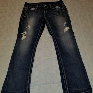 Maurice's Premium Dark Denim Jeans